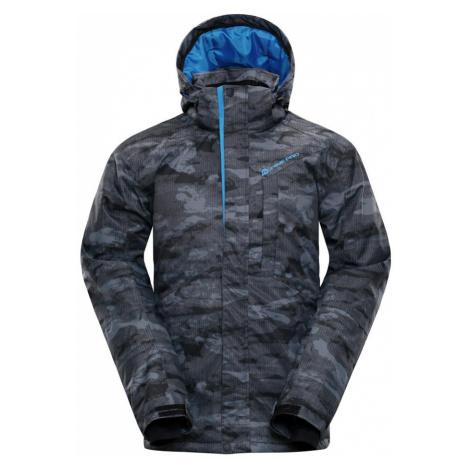 ALPINE PRO GLARNISH 4 Pánská lyžařská bunda MJCM307770 šedá