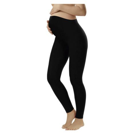 Dámské těhotenské legíny Italian Fashion Leggins long černé | černá