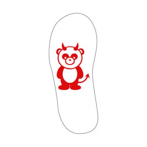 Sandály-žabky Panda čertík