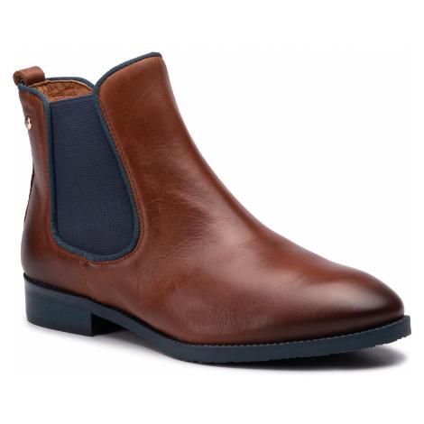 Kotníková obuv s elastickým prvkem PIKOLINOS - W4D-8637ST Cuero