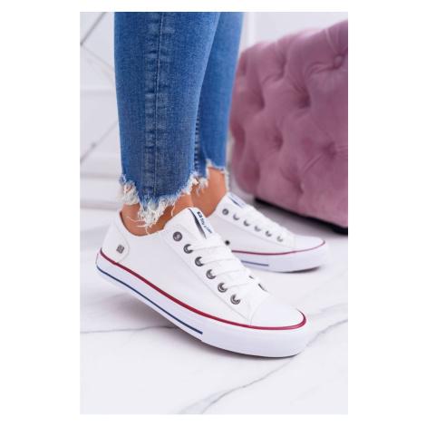 Women's Classic Low Sneakers Big Star DD274336 White Kesi