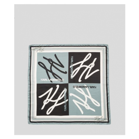 Šátek Karl Lagerfeld Autograph Scarf