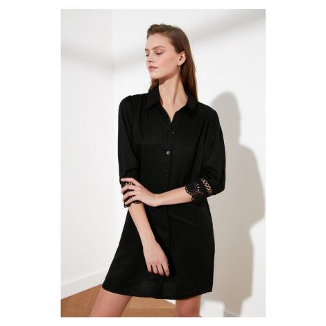Trendyol Black Shirt Dress