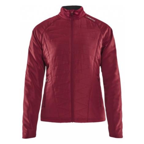 Dámská bunda CRAFT Eaze Fusion Warm červená