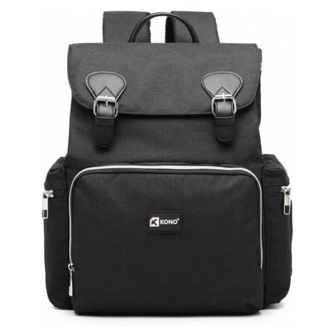 Černý batoh Kono Travel Baby