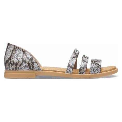 Crocs Crocs Tulum Open Flat W Mushroom/Stucco W9