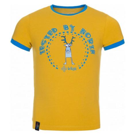 Dětské tričko KILPI MERCY-JB žlutá