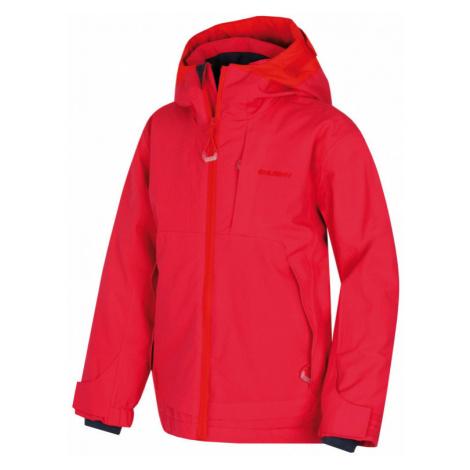 Dětská lyžařská bunda HUSKY Zisi výrazně růžová