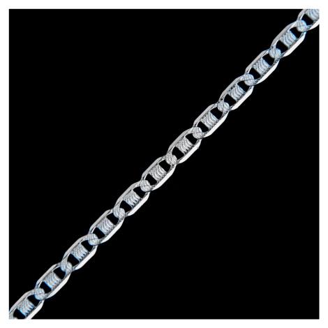 Stříbrný řetízek 15459 AMIATEX