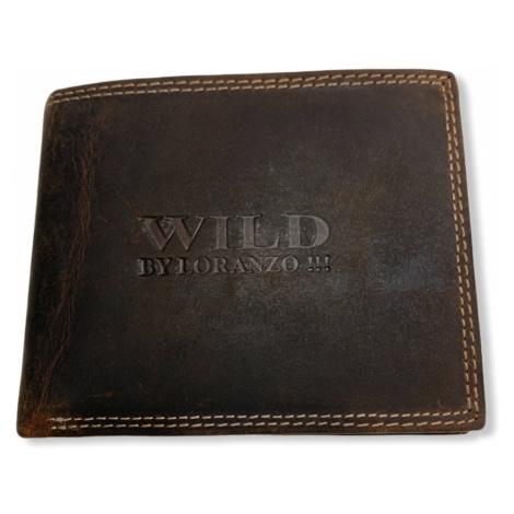 Pánská peněženka Wild Loranzo, hnědá