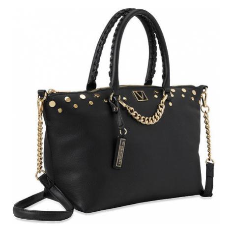 Victorias Secret luxusní kabelka Slouchy Satchel černá Victoria's Secret