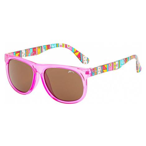 RELAX Lively Dětské sluneční brýle R3084K světle růžová 12(31)