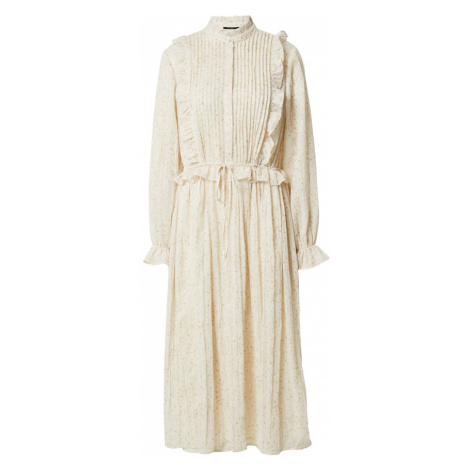 BRUUNS BAZAAR Košilové šaty 'Vervain Theresa' béžová / lososová