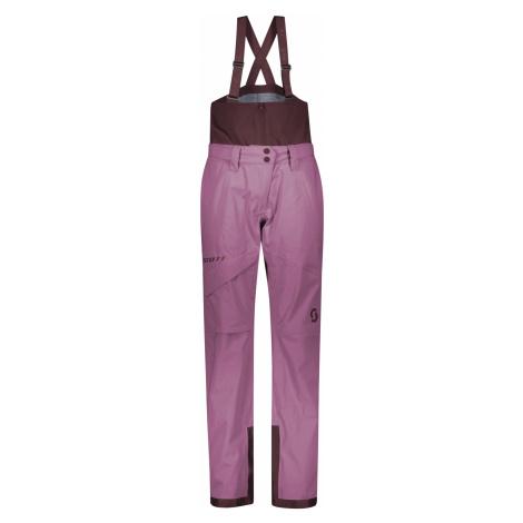 dámské kalhoty SCOTT Pant W's Vertic 3L, cassis pink