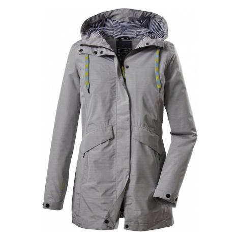 KILLTEC Outdoorová bunda 'Klupca' šedý melír
