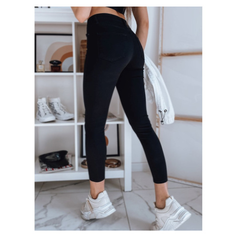 LANSING women's denim pants black UY0812 DStreet
