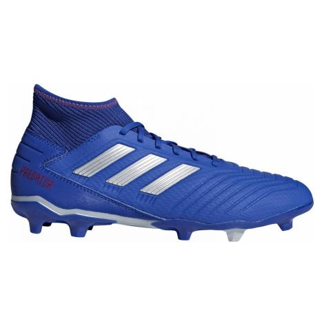 Kopačky adidas PREDATOR 19.3 FG Modrá / Bílá