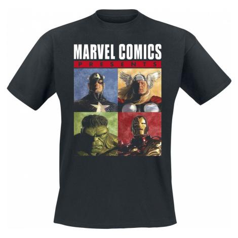 Avengers The Originals Tričko černá