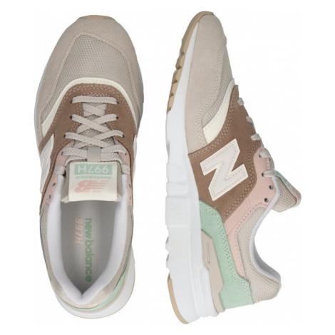 New balance Tenisky béžová / světle béžová / mátová / pastelově růžová
