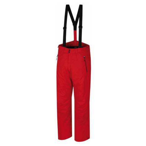 HANNAH JAGO Pánské lyžařské kalhoty 10000031HHX01 Racing red