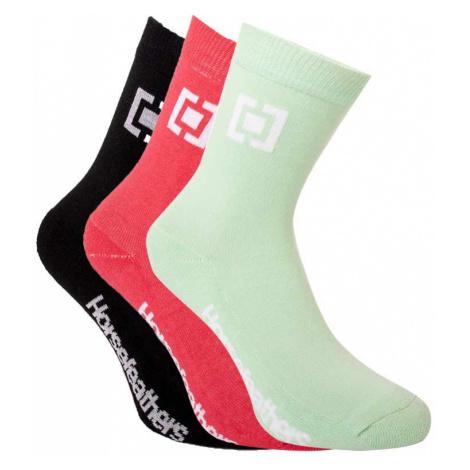 3PACK ponožky Horsefeathers vícebarevné (AW078A) M