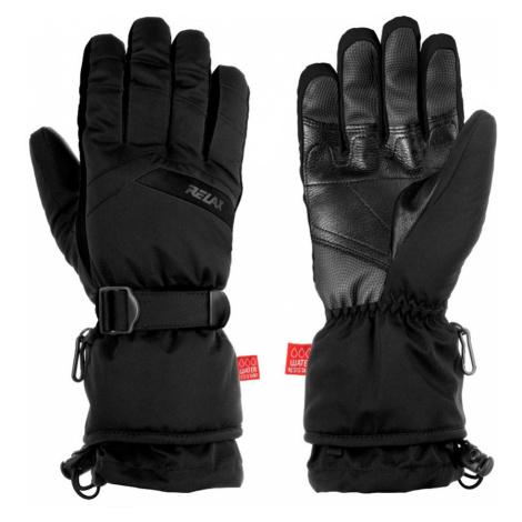 RELAX FRONTIER Lyžařské rukavice RR20A černá