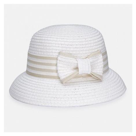 Dívčí klobouk Mayoral 210816 | bílá
