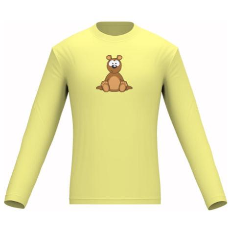 Pánské tričko dlouhý rukáv Méďa