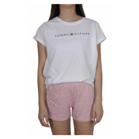 Dámské pyžamo Tommy Hilfiger vícebarevné (UW0UW02976 0VS)