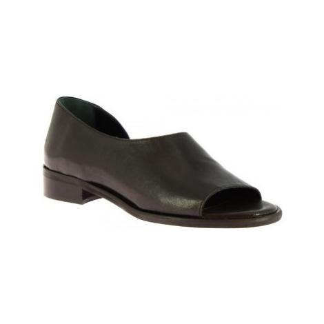 Leonardo Shoes 3 ROK NERO Černá