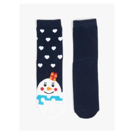 GATE Sada dvou párů vánočních ponožek