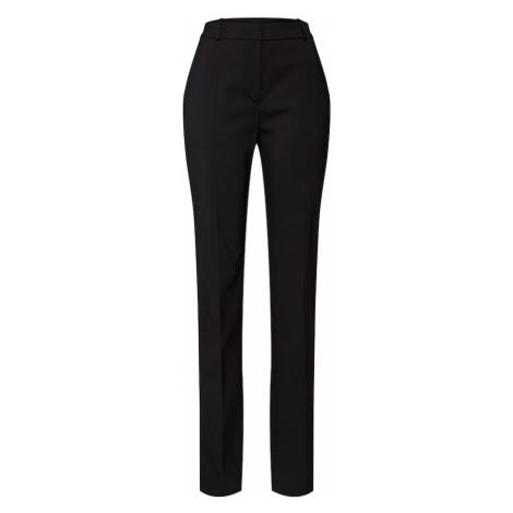 HUGO Kalhoty s puky černá Hugo Boss