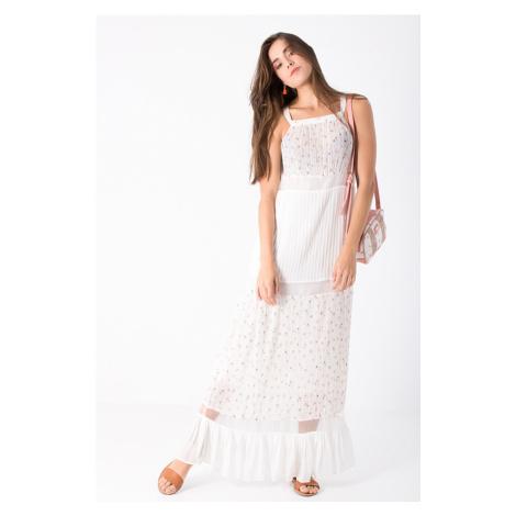 Smash MELODY Dámské šaty bílé