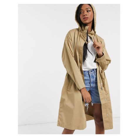 Levi's unbasic trench coat in stone-Green Levi´s
