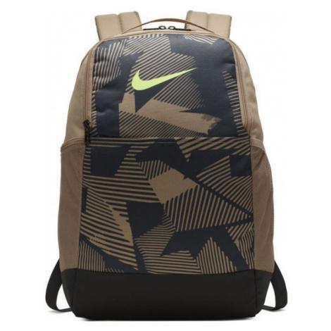 Nike BRASILIA M TRAINING BPK hnědá - Sportovní batoh
