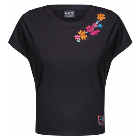 Tričko EA7 EMPORIO ARMANI černá