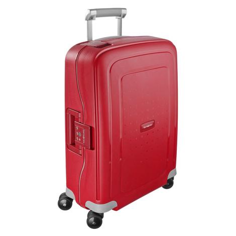 Samsonite Kabinový cestovní kufr S'Cure Spinner 10U 34 l - červená