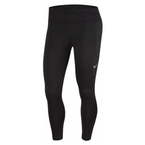 Nike FAST CROP W černá - Dámské běžecké legíny