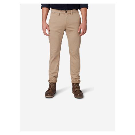 Kalhoty Tom Tailor Béžová