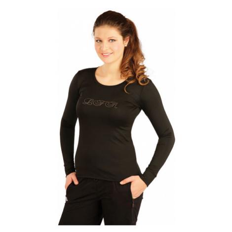 Dámské triko s dlouhým rukávem Litex J1072 | černá