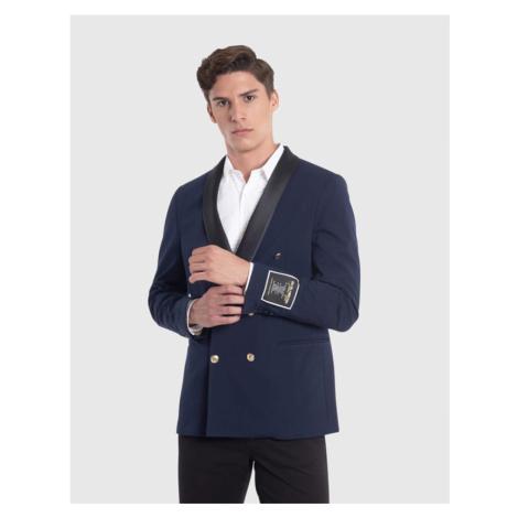 Sako La Martina Man Jacket Interlock - Modrá