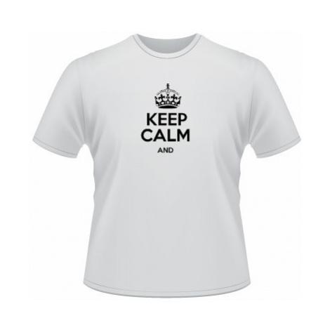 Pánské tričko SuperStar Keep calm