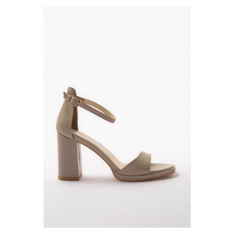 Trendyol Beige Women's Classic Heels