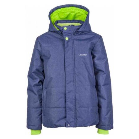 Lewro PALMER modrá - Chlapecká zimní bunda