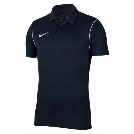 Tričko Nike Polo Park Dry 20 Tmavě modrá / Bílá