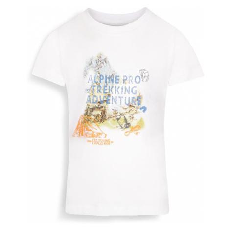ALPINE PRO AXISO 3 Dětské triko KTSR238000PB bílá