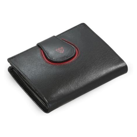 Černá dámská kožená peněženka Amanda Arwel