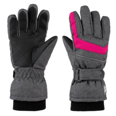 LOAP RUFUS Dětské lyžařské rukavice GKK1901T71XJ T71XJ