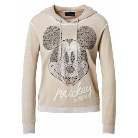 PRINCESS GOES HOLLYWOOD Mikina 'Hoody Mickey' mix barev / světle béžová