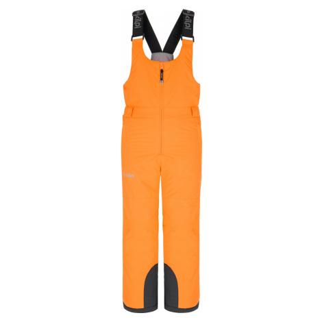 KILPI Dětské lyžařské kalhoty DARYL-J NJ0016KICOR korálová